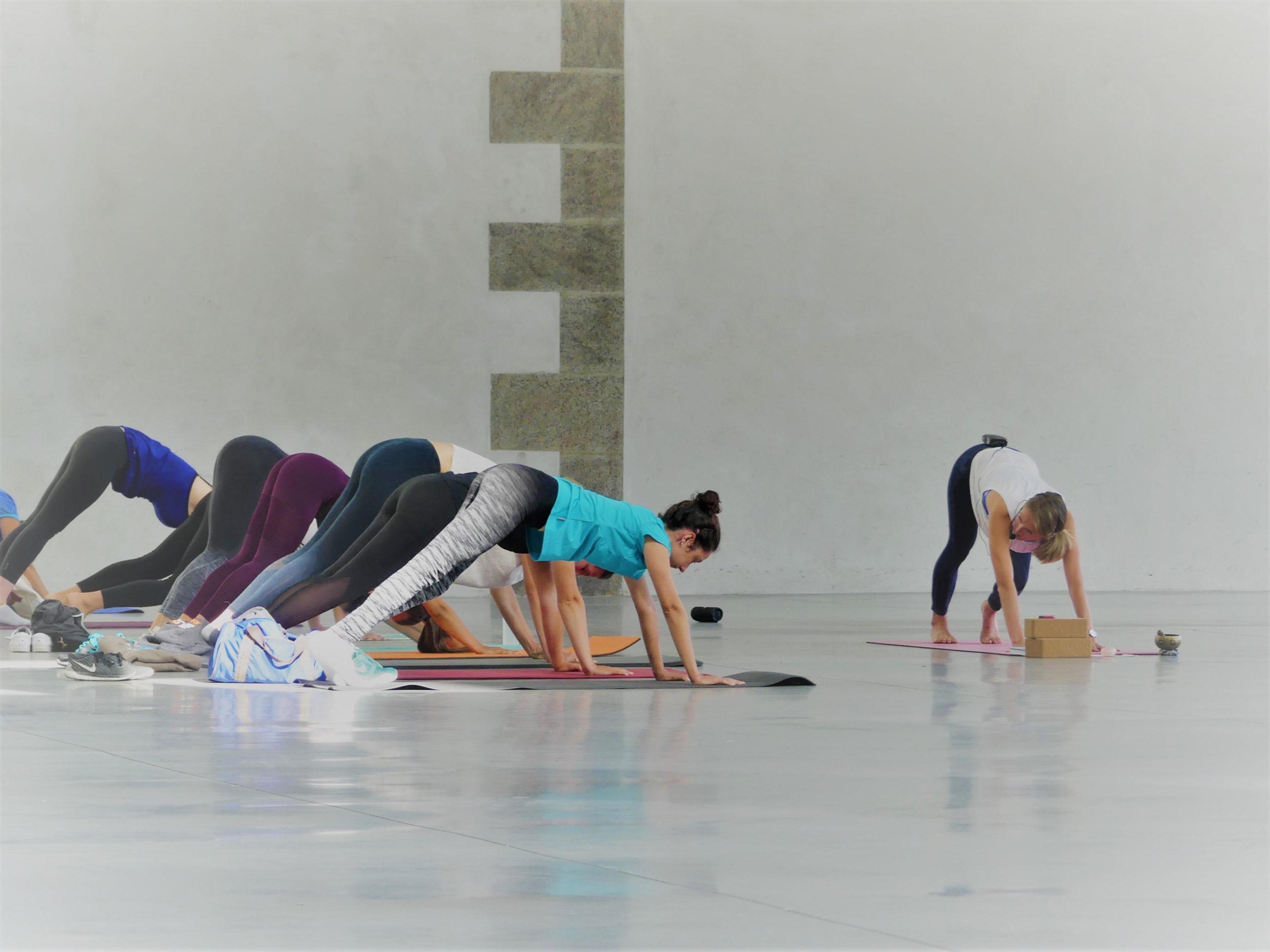 cours de yoga